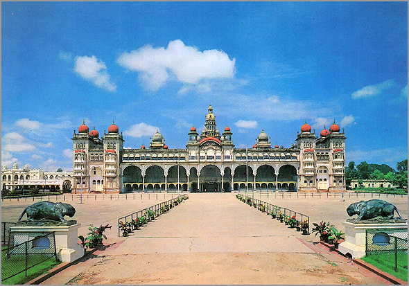 Palácio do Marajá em Mysore