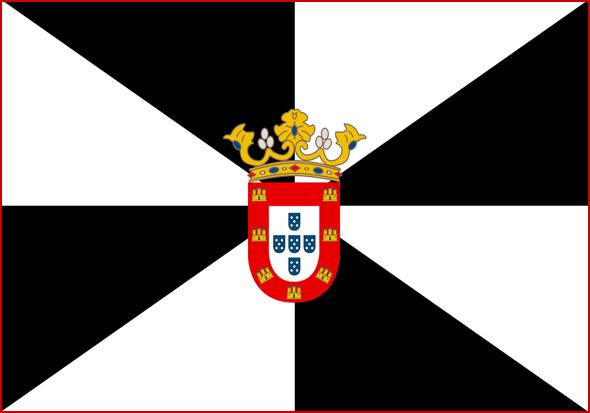 Bandeira e Escudo de Ceuta em 1415