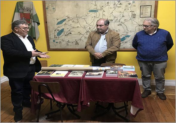 António Robalo, Joaquim Corista e Ramiro Matos