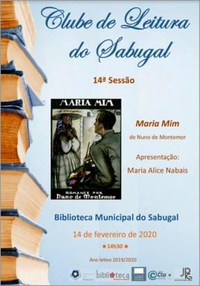 Maria Mim de Nuno de Montemor no Clube de Leitura do Sabugal