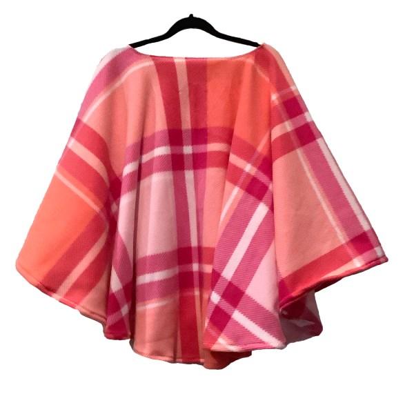 Women's Warm Fleece Poncho Cape