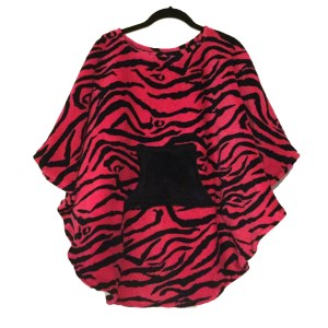 Hospital Gift Girls Fleece Poncho Cape