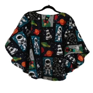 Children's Fleece Poncho Cape