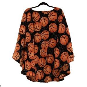 Hospital Gift Man's Basketball warm fleece poncho cape