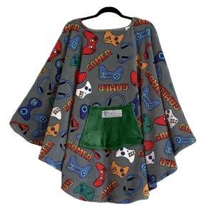 Adult Teen Hospital Gift Fleece Poncho Cape