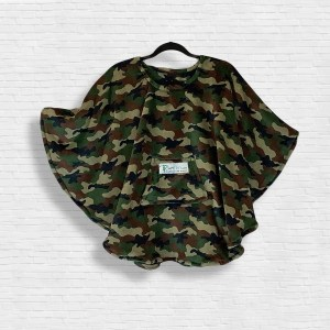 Child Hospital Gift Fleece Poncho Cape Ivy Camouflage