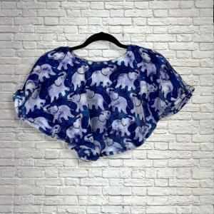 Baby Toddler Hospital Gift Fleece Poncho Cape Ivy Celestial Elephants
