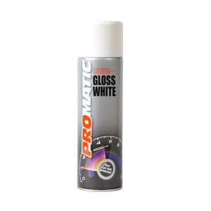 PROMATIC GLOSS WHITE AEROSOL (500ML)