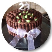 Choc Birthday Cake