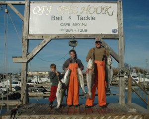 off the hook B & T striper