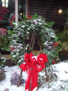 wreathsnow
