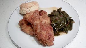 Fried Chicken Collard Greens Buttermilk Biscuit Recipes