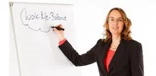 Susanne Goerke am Flipchart