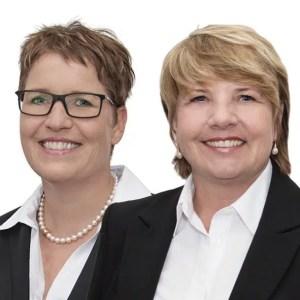 Profilbild Andrea Foerster und Cornelia Dettmer weißer Hintergrund