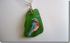 Painted Sea Glass (1/6)