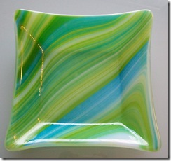 Fused Glass Trays,Plates and a Bowl (2/6)