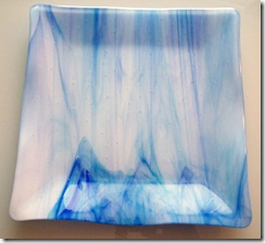 Fused Glass Trays,Plates and a Bowl (5/6)