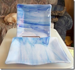Fused Glass Trays,Plates and a Bowl (6/6)