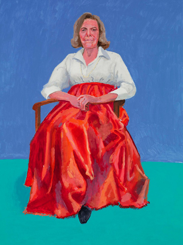 DAVID HOCKNEY 82 PORTRAITS AND 1 STILL-LIFE