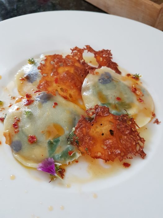 Celebrate World Pasta Day with Stained Glass Ravioli