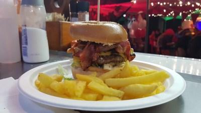 Full house burger and fries - Cullum Johnston