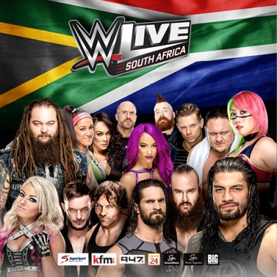 WWE Live (Image: Supplied)