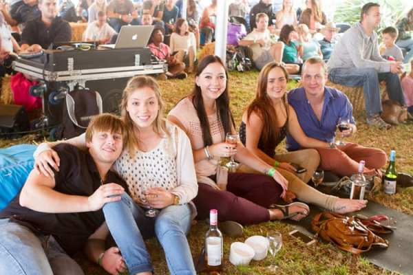 Riebeek Cellar Collection's Wild Olive Acoustic Stage (Image: Supplied)