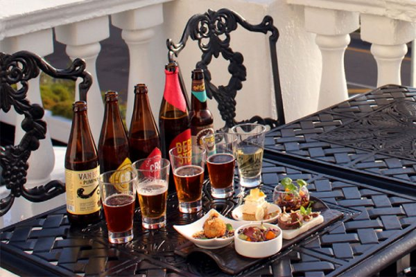 Beer Tasting at the 12 Apostles (Image: Supplied)