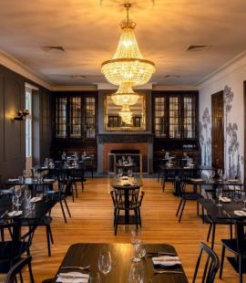 Viande at the Grand Roche Hotel (Image: Charles Russell)