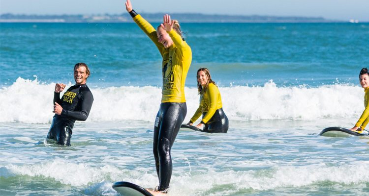Stoked Surfing School (Image: Supplied)