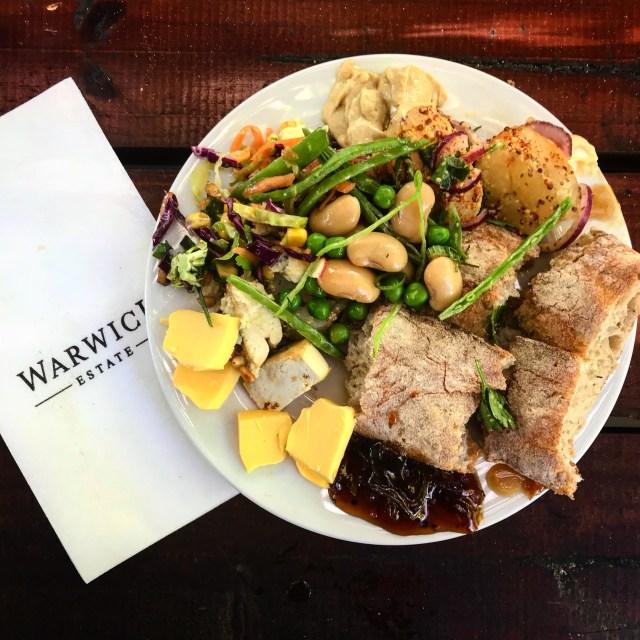 warwick wine estate stellenbosch cape town vegan picnic