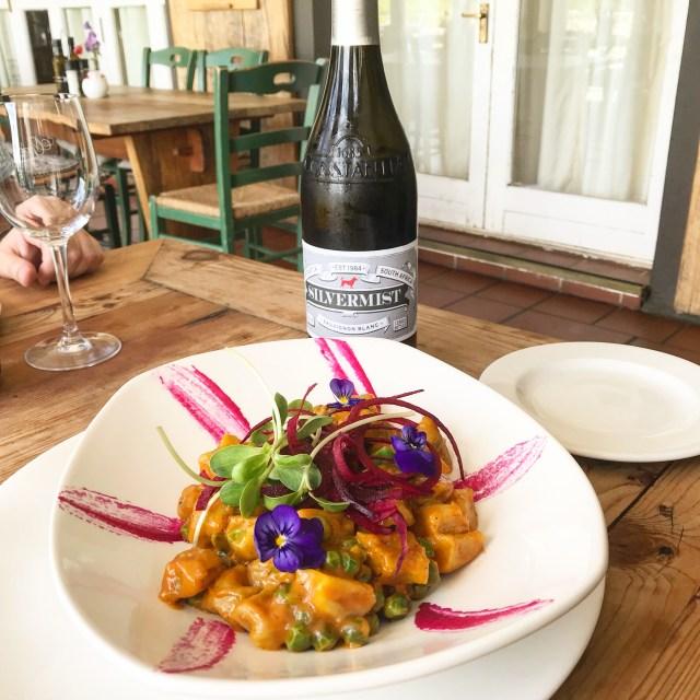Green Vine Eatery Silvermist Wine Cape Town Vegan