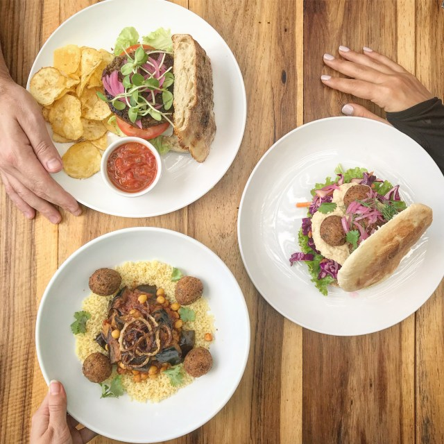 the courtyard cafe cape town vegan