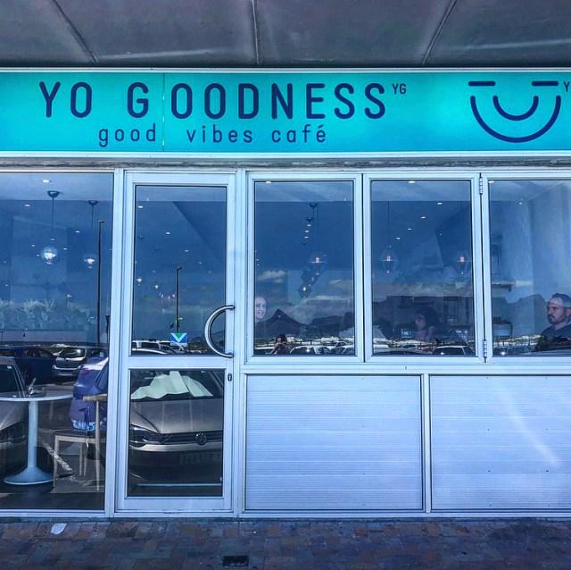 yo goodness café table view cape town vegan