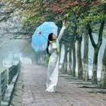 Người về trong mưa xuân