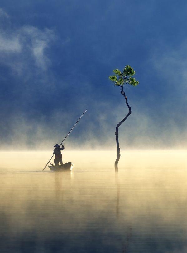 Sương giăng trên hồ Tuyền Lâm vào top ảnh đẹp trên báo Mỹ - Du Lịch Chất