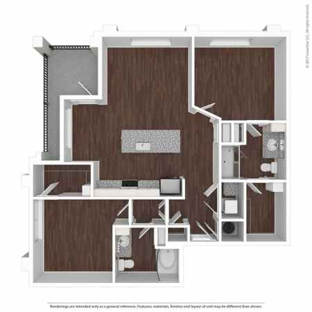 Apartments for Rent in Atlanta  GA   Seven by Cortland   Home Previous  Next  Close  Available Amenities  FLOORPLAN