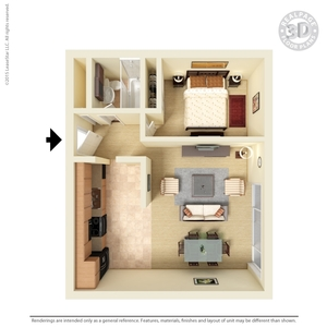 Floor Plans  1   2 Bedroom Apartments Concord  CA 1   2 Bedroom Floor Plans