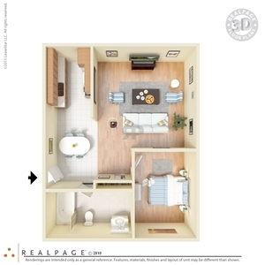 Floor Plans at Courtyard Apartments 1   2 Bedroom Floor Plans