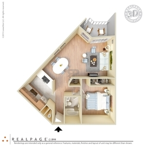 Floor Plans of 1   2 Bedroom Apartments Fremont  CA 1   2 Bedroom Floor Plans
