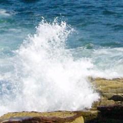 Crashing Wave At Arcadia
