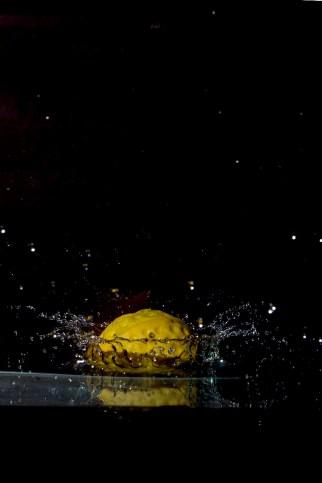 Toy Tennis Ball Splash