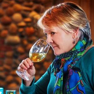 Chris Cook at a Wine Tasting