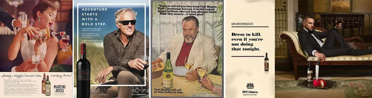 Wine Ads Targeting Men