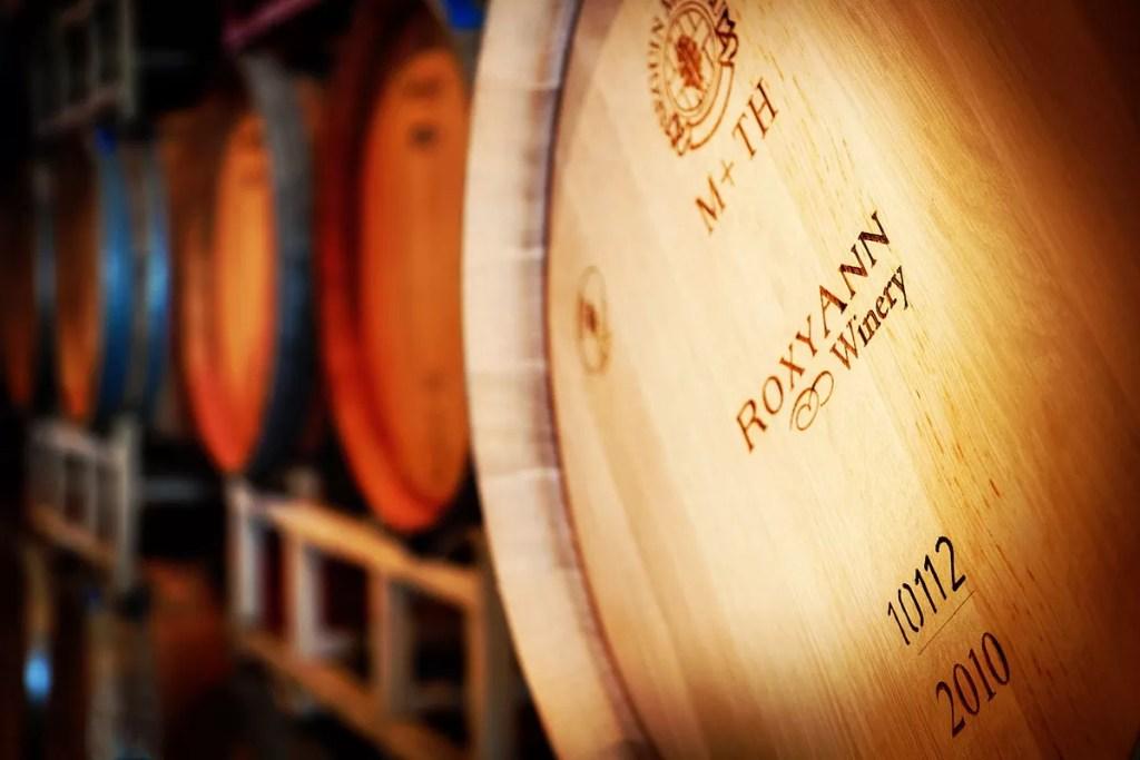 RoxyAnn Wine Barrel