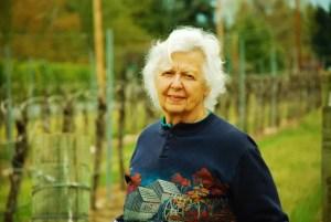 Traute Moore at Quail Run Vineyards
