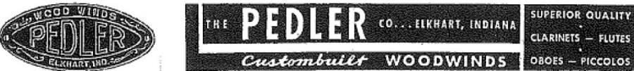 Pedler logo