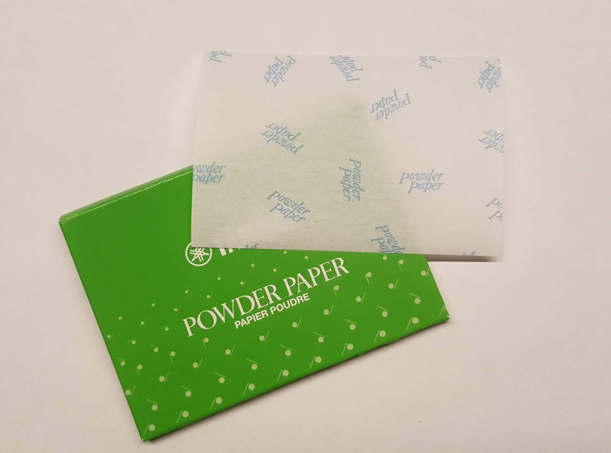 Powder paper