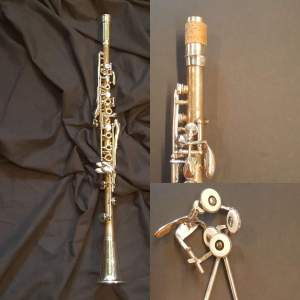 H. Bettoney Boehm system metal clarinet