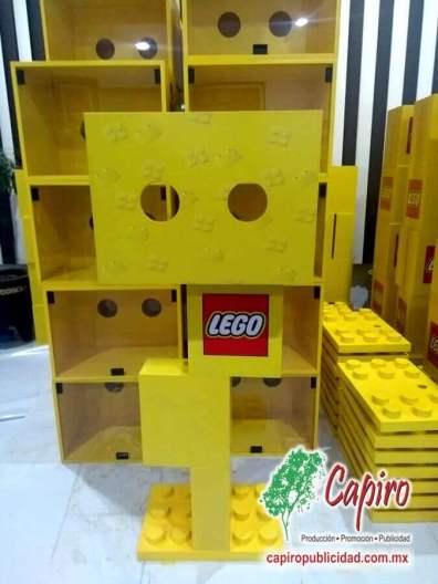 Mostrador MDF Proyecto Blin Builder LEGO 3